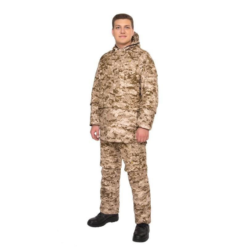 Костюм Биостоп Оптимум мужской песочный камуфляж 52-54/182-188