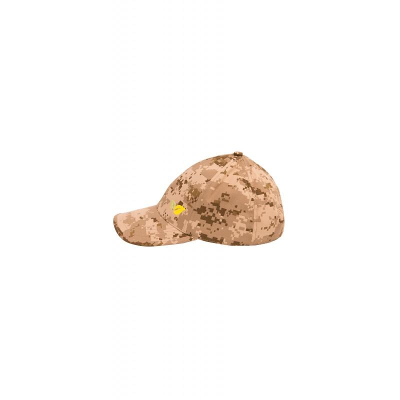 Бейсболка Биостоп песочный камуфляж