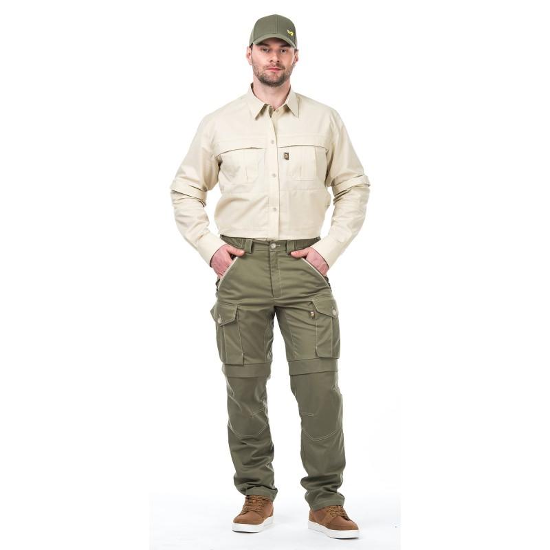 Биостоп комфорт брюки мужские от клещей 60-62/182-188 светлый хаки