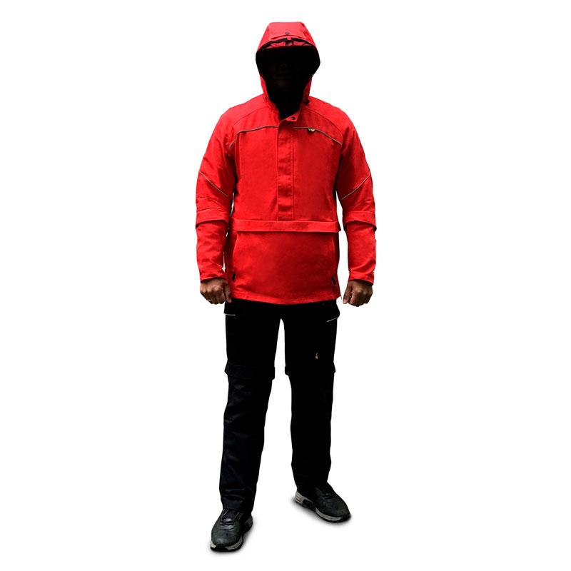 Костюм Биостоп Оптимум мужской красный-черный 52-54/182-188