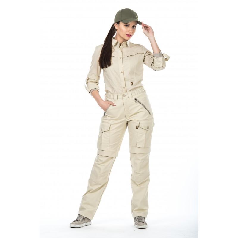 Женские брюки Биостоп Комфорт размер 54-56/170-176 бежевые