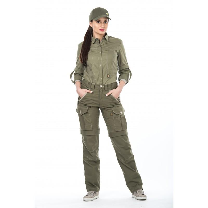 Женские брюки Биостоп Комфорт размер 50-52/170-176 хаки