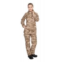 Костюм Биостоп Оптимум женский песочный камуфляж 42-44/158-164