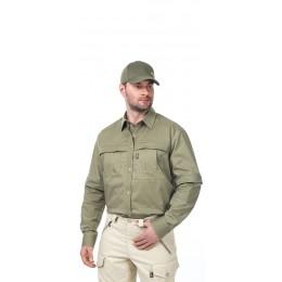 Биостоп комфорт (сорочка верхняя) муж. 52-54 светлый хаки